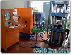 250kN Press for Sheet Bulge Tester (Posco)